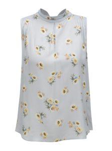 Svetlomodrá kvetovaná blúzka Dorothy Perkins Petite