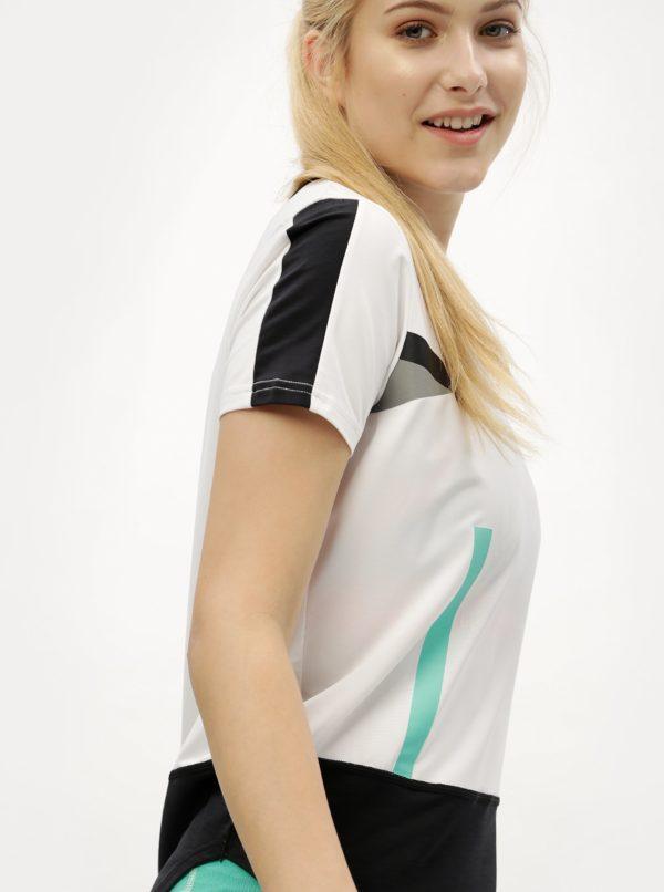 Čierno-biele tričko Kari Traa Anita Tee