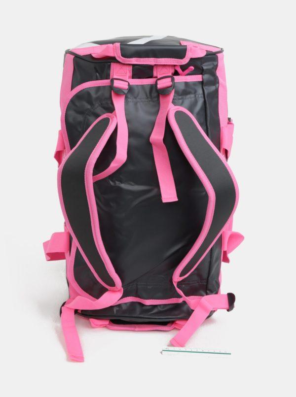 Sivo-ružová vzorovaná športová taška Kari Traa