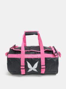 Sivo-ružová vzorovaná športová taška Kari Traa Kari