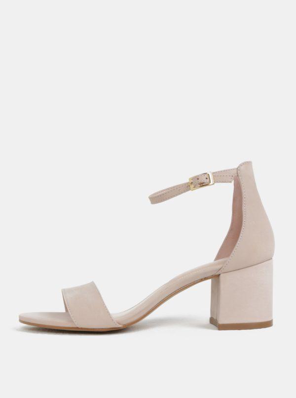 Telové kožené sandáliky ALDO Villarosa