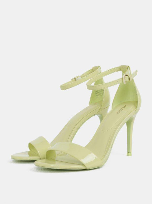 Svetlozelené sandálky ALDO Cally