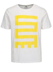 8e96a4433217 Biele tričko s potlačou Jack   Jones Glandale