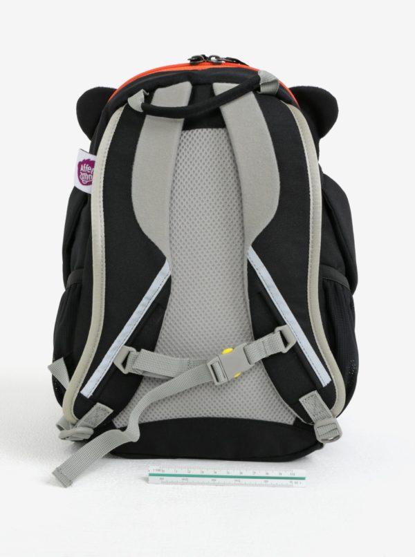 Čierno-biely batoh v tvare pandy Affenzahn 8 l