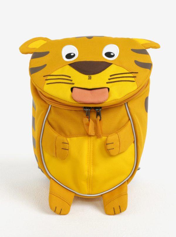 Žltý batoh v tvare tigra Affenzahn 4 l