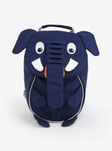 Tmavomodrý batôžtek v tvare slona Affenzahn 4 l