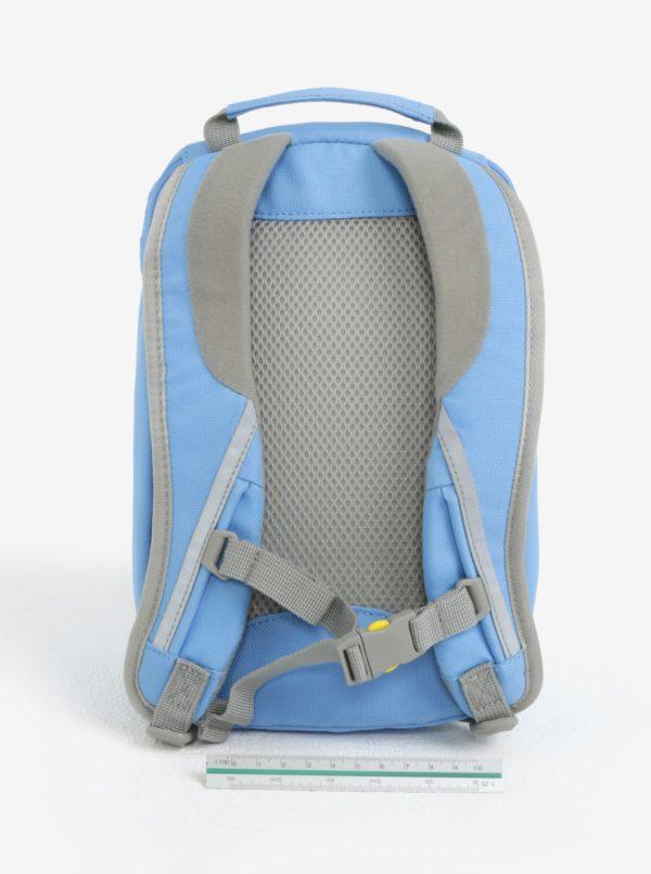 Svetlomodrý batoh v tvare delfína Affenzahn 4 l