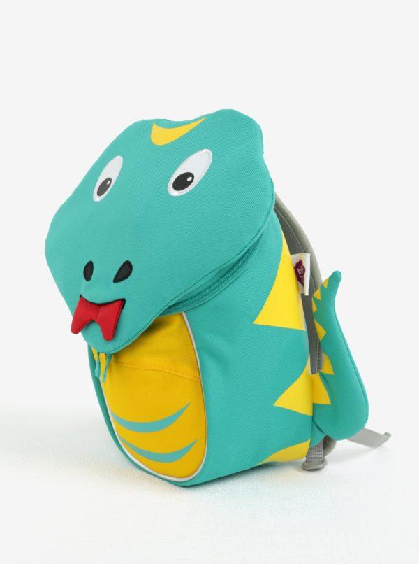 Zelený batoh v tvare hada Affenzahn 4 l