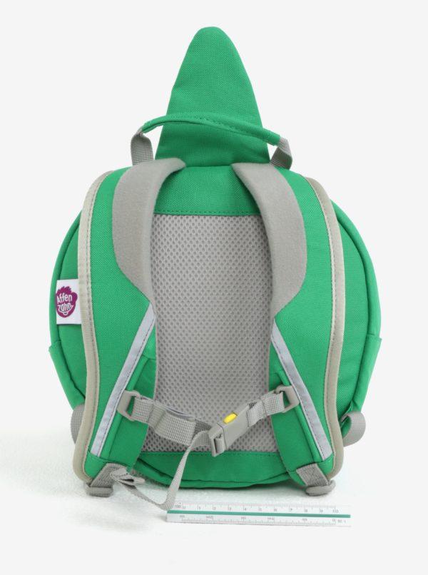 ab4972aa4b Zelený batoh v tvare krokodíla Affenzahn 4 l