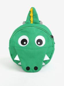 Zelený batoh v tvare krokodíla Affenzahn 4 l