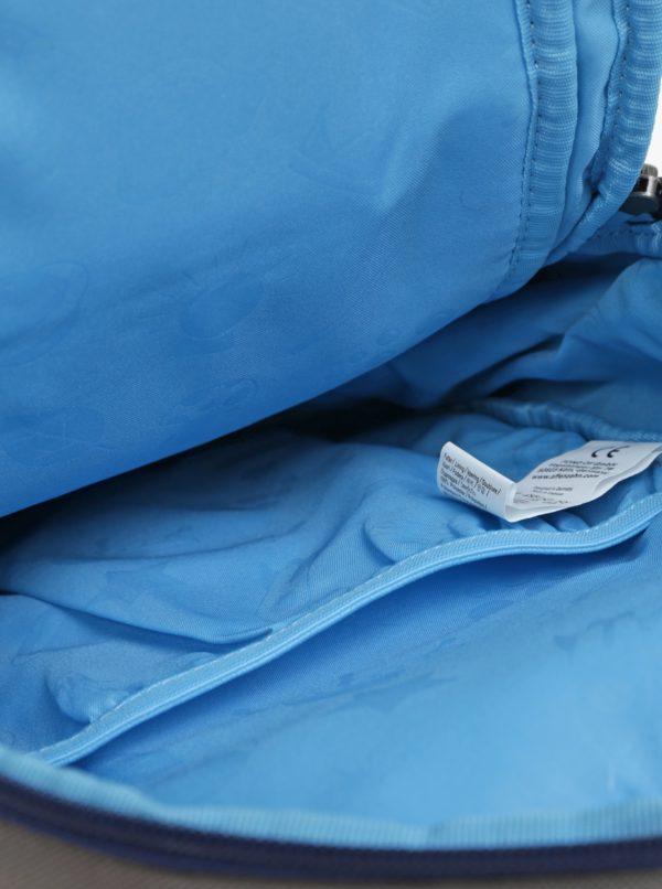Sivý batoh v tvare somárika Affenzahn 8 l