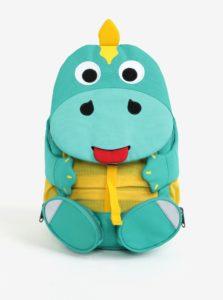 Zelený batoh v tvare dinosaura Affenzahn 8 l