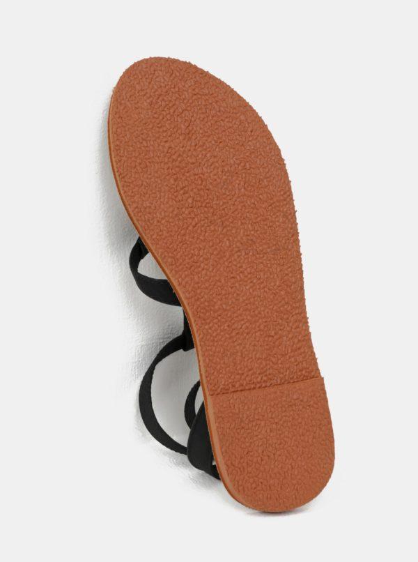 Čierne dámske sandále Roxy Soria 24feb1a41c