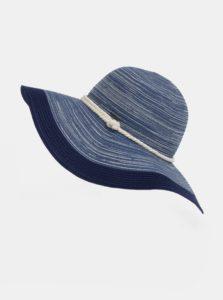 Tmavomodrý dámsky vzorovaný klobúk Roxy Ocean Dream