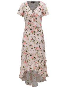 d1bfb873cc Svetloružové kvetované maxišaty Dorothy Perkins