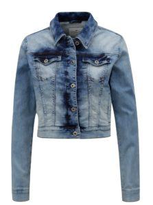 Svetlomodrá dámska rifľová bunda Cross Jeans