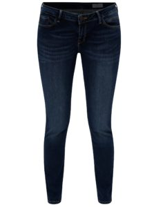 Tmavomodré dámske super skinny rifle Cross Jeans Adriana
