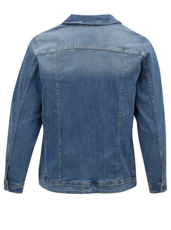 Modrá rifľová bunda Zizzi