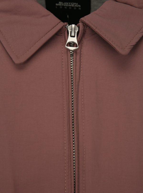 Svetlofialová bunda s vreckami Burton Menswear London