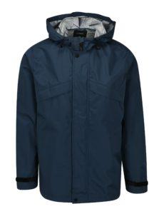 Tmavomodrá bunda s kapucňou Burton Menswear London