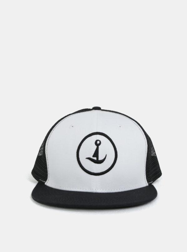 Bielo-čierna šiltovka Mr.Sailor