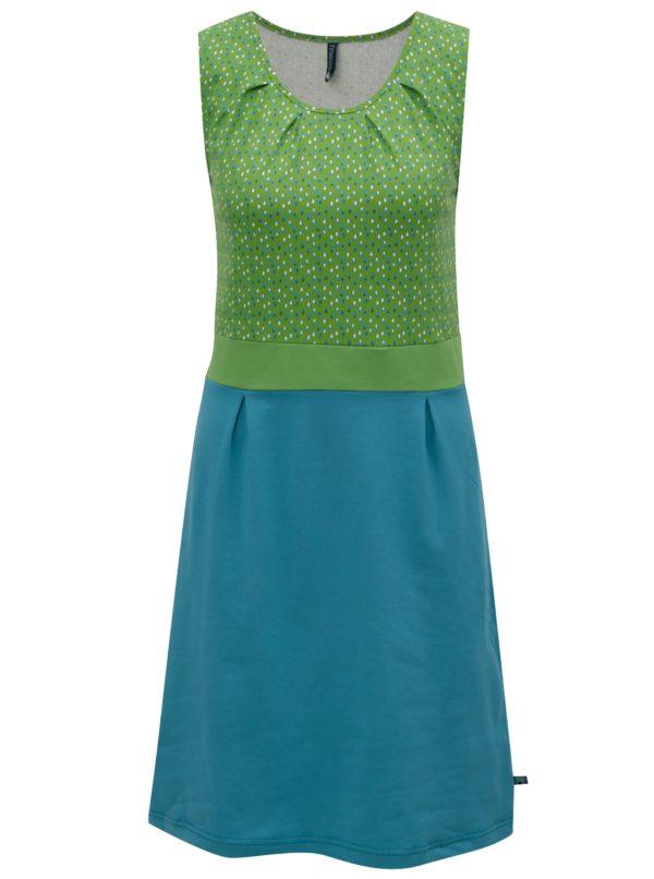 Zeleno-tyrkysové šaty Tranquillo Irina