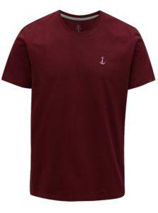 Vínové basic tričko Mr.Sailor