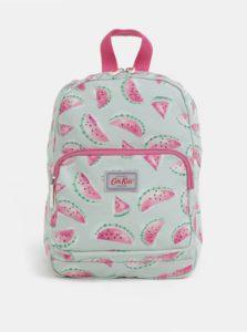 Svetlozelený dievčenský batoh s potlačou melónov Cath Kidston