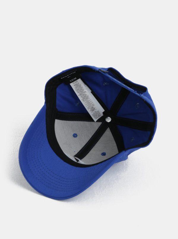 Modrá chlapčenská šiltovka s logom Quiksilver