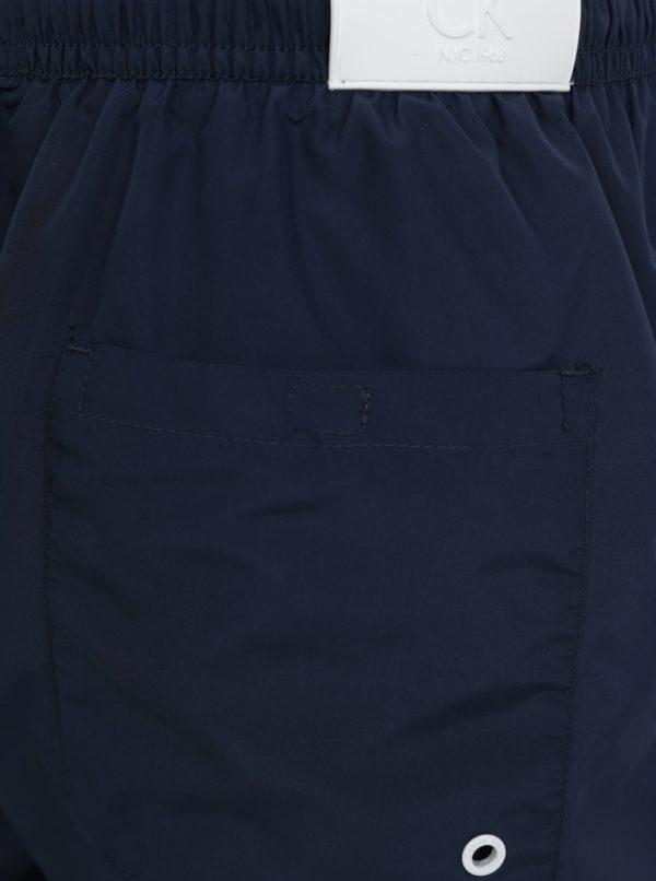 Tmavomodré pánske plavky Calvin Klein