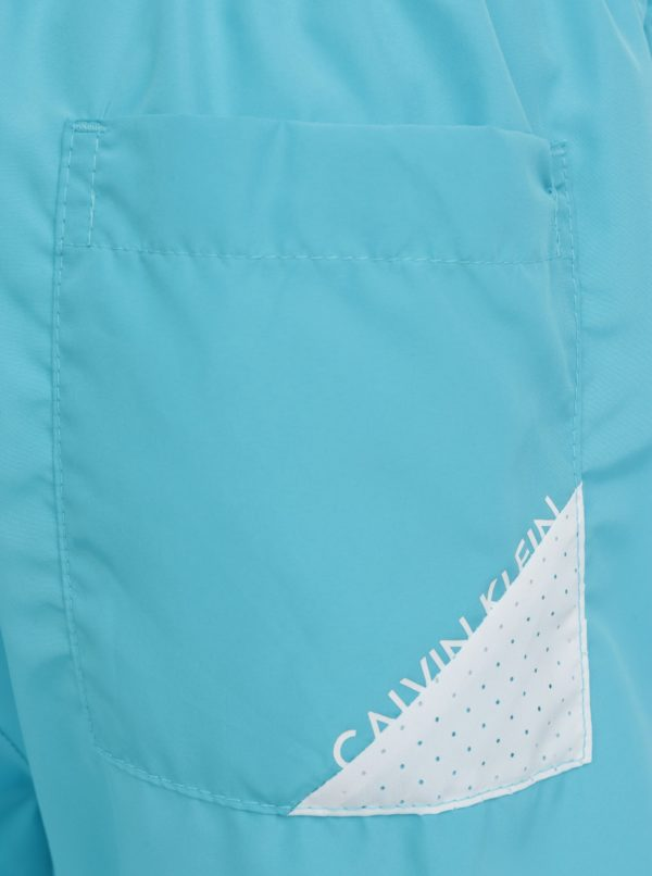 Svetlomodré pánske plavky Calvin Klein