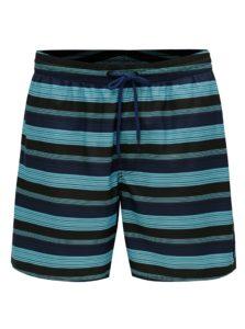 Modré pánske pruhované plavky O'Neill Bondi
