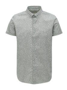 Svetlozelená vzorovaná košeľa Dstrezzed