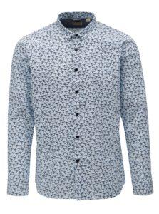 Modro-biela vzorovaná košeľa Dstrezzed