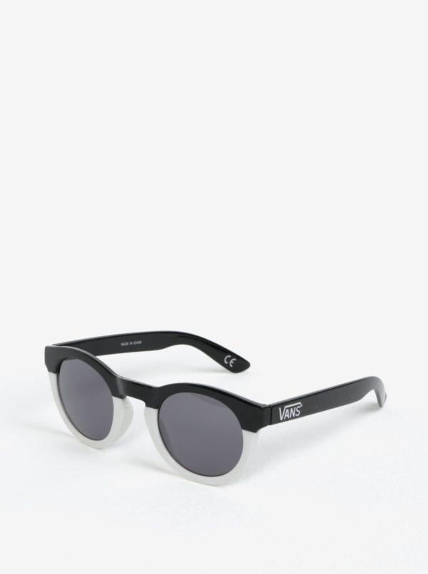 Bielo-čierne dámske slnečné okuliare VANS Lolligagger