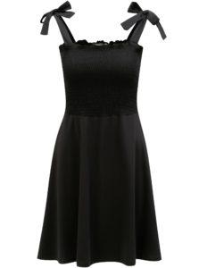 8d9d9e5737a0 Čierne šaty na ramienka Dorothy Perkins
