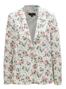 Biele kvetované sako Dorothy Perkins