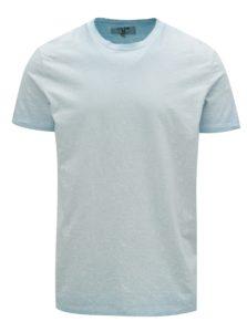 Svetlomodré pánske vzorované tričko Garcia Jeans
