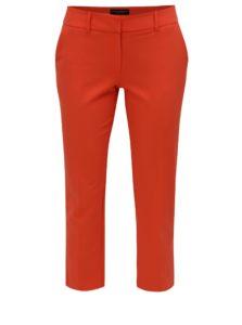 Červené skrátené nohavice Dorothy Perkins