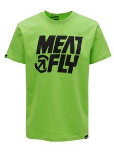 Zelené pánske tričko MEATFLY Shaper