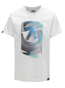 Biele pánske tričko MEATFLY Domino