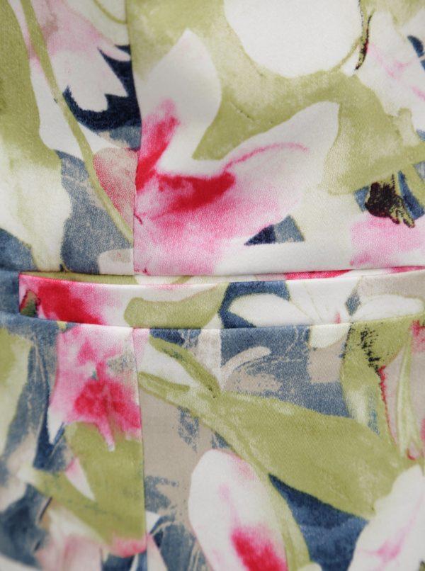 Zeleno-biele kvetované sako Yest