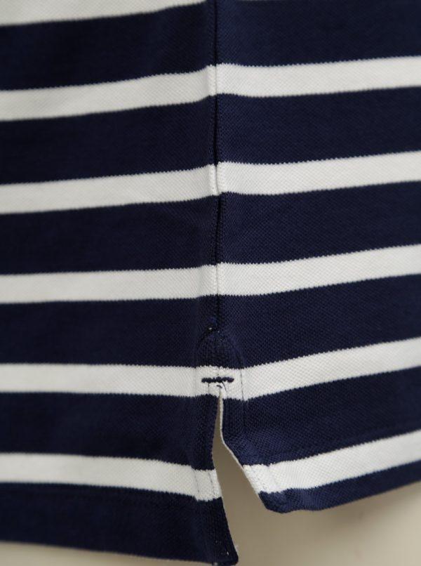 Bielo-modrá dámska pruhovaná polokošeľa GANT