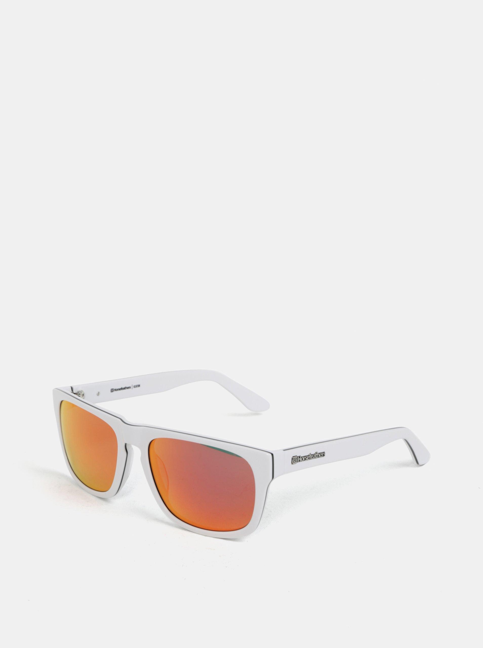 1710af48f Červeno-biele pánske slnečné okuliare Horsefeathers Keaton | Moda.sk