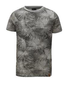 Sivé chlapčenské tričko s potlačou LIMITED by name it Nohr