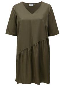 Kaki šaty Zizzi