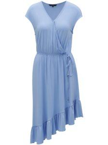 Svetlomodré asymetrické šaty VERO MODA Gloria