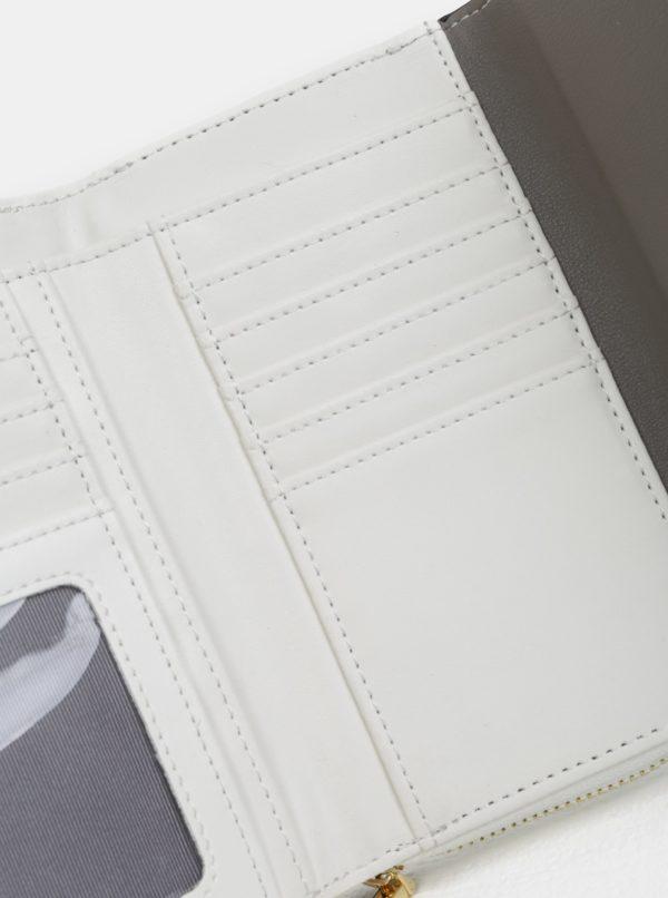c3dbfd7afd03 Bielo-sivá veľká peňaženka Gionni Cara
