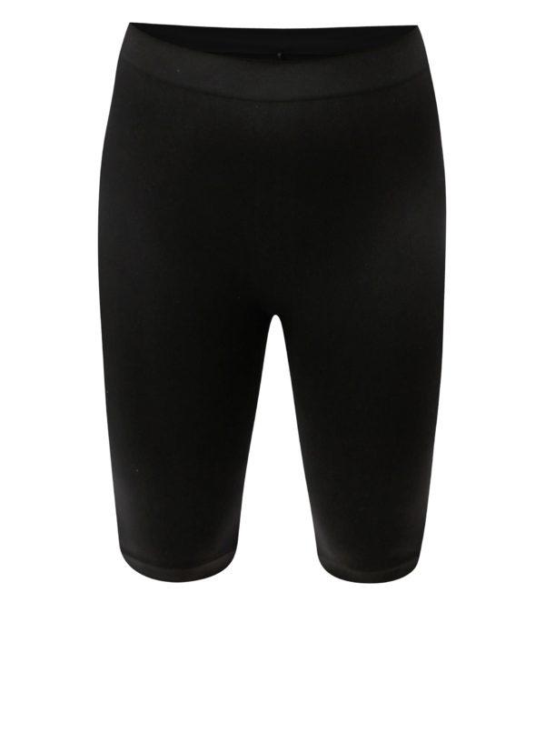 Čierne dámske elastické kraťasy Zizzi