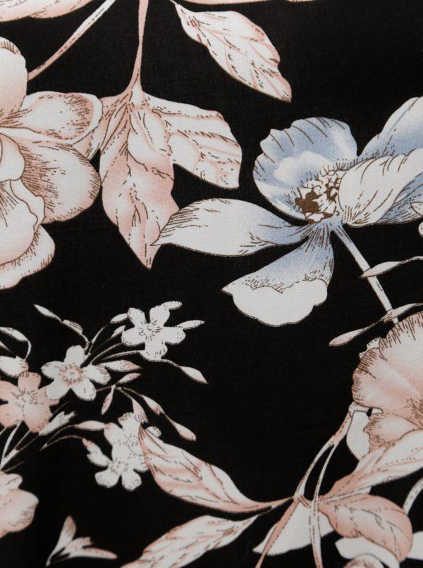 Čierna kvetovaná blúzka Zizzi